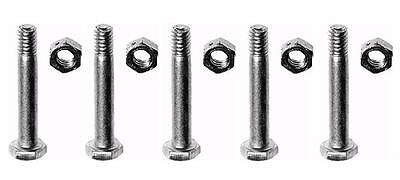 (5) Shear Pins & Bolts For Homelite Jacobsen 342449 400120 Snow Throwers Blowers