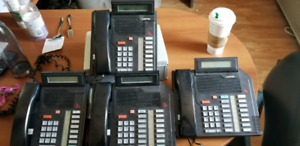 Astra and Nortel Business Phones
