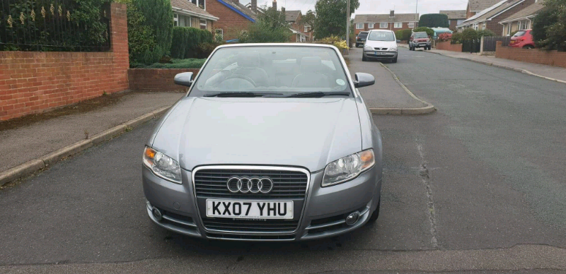 Audi A4 Convertible 1 8 Turbo Automatic 07 Plate | in Darton, South  Yorkshire | Gumtree