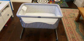 Chicco Next2me baby crib/bed/cot