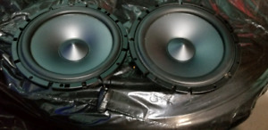 "2 Alpine 6-1/2"" Component 2 way speakers $75 OBO"