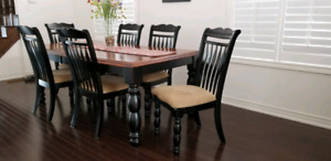 7 piece dining set by Ashley Furniture