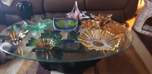 Murano Glass ashtray and centerpiece collection