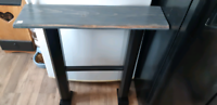 Handcrafted wall /entryway table