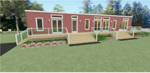 OWN your own home and land! Modern Mini! $505.42 bi-weekly