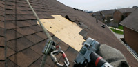 Roofing services, missing shingles, leak repairs
