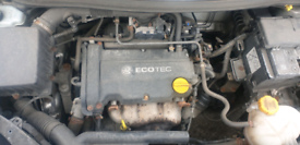 Vauxhall 1.2 16v complete engine z12 xep 58k from 2008 corsa