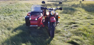 2010 Ural with Sidecar