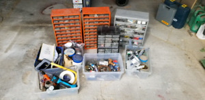 Assortment of Screws, bolts and various Hardware
