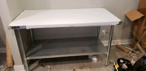 BRAND NEW Stainless steel kitchen table/ work bench