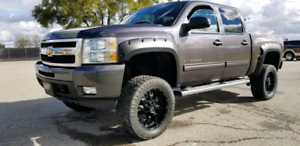 Lifted 2010 Chevrolet 1500 4x4