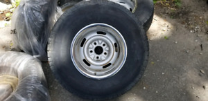 Michelin LTX M/S tires on Chevy Rally Rims