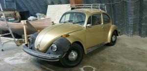 """1974 Volkswagen Beetle Collectors """"Sun Bug"""""""