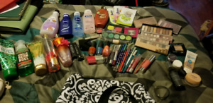 SO MUCH makeup, creams, nail polish etc