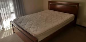 Timber frame Queen bed mattress