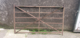 Georgian forged entrance gate