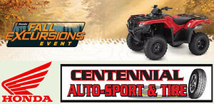 Awesome model year clearout on Honda ATV's  Save up to $1500