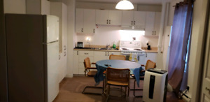 3 1/2 to sublet fuly furnished