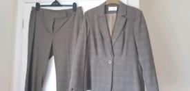 Ladies checked suit (Matalan)