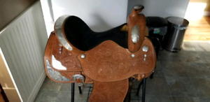 Western Pleasure (Show) Saddle. Make an offer.
