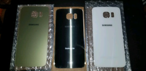Samsung Galaxy S6 Back Replacements (Gold, White)