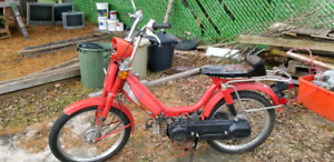 1982 HONDA PA50 II (MOPPED)  francais / English