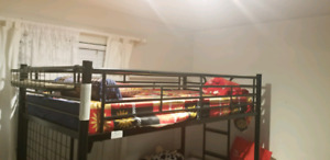 Kids bunk bed and table for sale