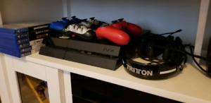 PS4 +3 REMOTES + 30 GAMES TRADE FOR SWITCH