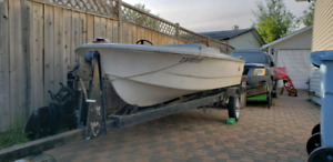 Boat & Trailer  Only $500