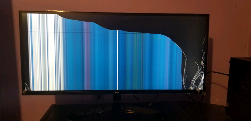 SPARES OR REPAIRS LG ultrawide monitor 34