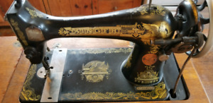 Antique Singer Sewing Machine w/ Cabinet