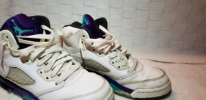 Jordan 5 grape size 7y