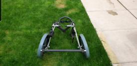 Bespoke dog wheelchair