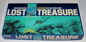 Vintage Electronic LOST TREASURE board game