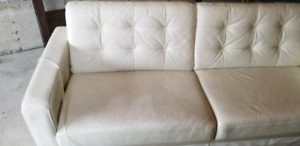 Couch - white leather