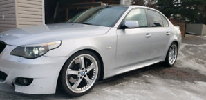 BMW 545i SMG transmission with only 138km fun car