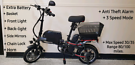 ?Grade A Electric Folding Bike?x2 Batteries Included?