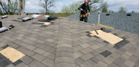 Professional roofing services, leak repairs, vents