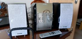 Panasonic 5 change CD/tape Stereo System