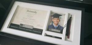 Graduation Frame - Diploma, Tassel, Picture