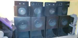 Sound system for club and/or gym etc