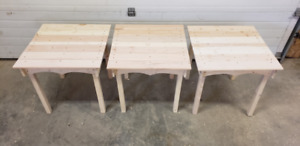 Deck or campground table