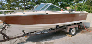 Good Trailer w/parts boat.
