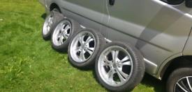 "5x120 18"" bmw alloy wheels"