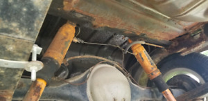 Dodge dart 8-3/4 rear end posi with 3:55