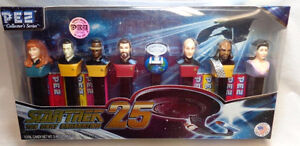 Pez Startrek 25 Limited Edition Collection with Pez Candies London Ontario image 1