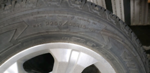 """Set of 4 18"""" tires and rims"""