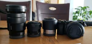 Ensemble Kit appareil  photo A6000