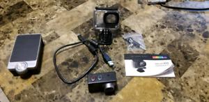 Activeon XG camera go pro style(1080p 60fps,14MP)+accessories