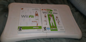 2x Wii fit boards and games